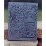 Book of Armagh Celtic wall plaque